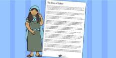The Story of Esther Bible Story Print Out