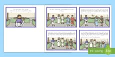 * NEW * Jesus Turns Water into Wine (Wedding at Cana) Story Sequencing Cards