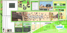 PlanIt - Science Year 4 - Sound Additional Resources