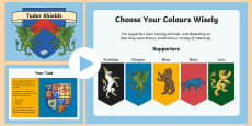 KS2 Tudor Shields Information PowerPoint