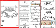 Christmas Activity Photocopy Pack Activity Pack - English/Romanian