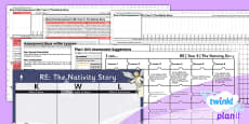PlanIt - RE Year 3 - The Nativity Story Unit Assessment Pack