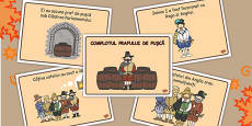 The Gunpowder Plot Story Sequencing Romanian