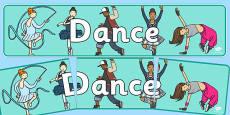 Dance Display Banner NZ