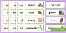 Fairtrade Word Cards
