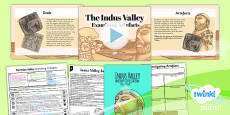 PlanIt - History UKS2 - The Indus Valley Lesson 4: Examining Artefacts Lesson Pack