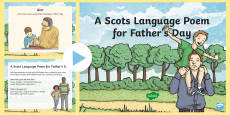 A Scots Language Poem for Father's Day PowerPoint