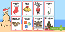 Christmas Display Posters English/Afrikaans