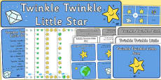 Twinkle Twinkle Little Star Resource Pack
