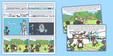 The Snow Queen Story Cards