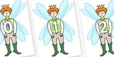 Numbers 0-31 on Fairy Prince