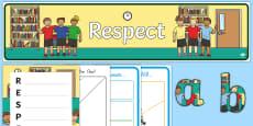 Respect Lesson Teaching Pack