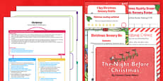 Childminder EYFS Christmas Activity Web and Resource Pack