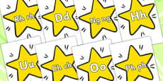 A-Z On Stars Welsh