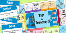 What is Democracy? Board Game