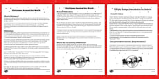 Christmas around the World Comprehension Sheet Polish Translation