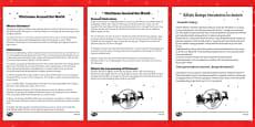 Christmas around the World Comprehension Sheet Polish Translation
