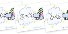 Modifying E Letters on Fairies (Plain)
