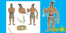 Māui and the Giant Ika Stick Puppets