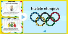 Istoria inelelor olimpice - Prezentare PowerPoint