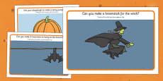 Halloween Playdough Mats Arabic Translation