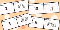 Tallies Loop Cards