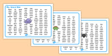 My Word Mat KS1 Dyslexia