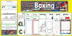Rio 2016 Olympics Boxing Resource Pack