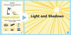 Light and Shadow PowerPoint
