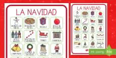 Póster DIN A4: Vocabulario -  La  Navidad