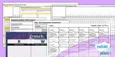 PlanIt - Year 3 French - Time: Assessment Pack