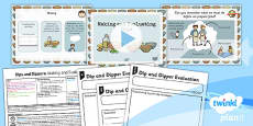 PlanIt - D&T KS1 - Dips and Dippers Lesson 6: Making and Evaluating Lesson Pack