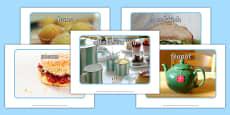 Afternoon Tea Display Photos