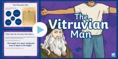 Vitruvian Man Information PowerPoint