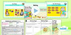 Planit Y1 Multiplication and Division Lesson Pack Doubles and Halves (2)