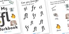 My 'fl' Letter Blend Workbook