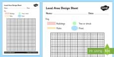 Local Area Design Sheet