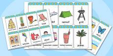 Summer Flashcards Polish
