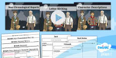 PlanIt Y5 World War II: To Support Teaching on Goodnight Mister Tom WriteIt Pack