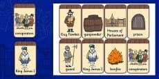 The Gunpowder Plot Flashcards
