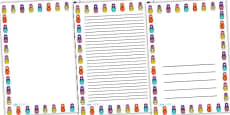 Russian Doll Page Borders