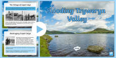 The Flooding of Tryweryn PowerPoint