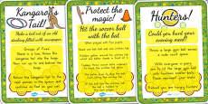 Australia - Aboriginal and Torres Strait Islander People Game Cards