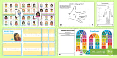 * NEW * Mindful Me: Emotions Activity Pack