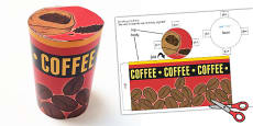 Roleplay Supermarket Coffee Tin