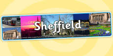 Sheffield Photo Display Banner
