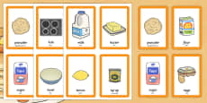 Pancake Day Pairs Matching Game Arabic Translation