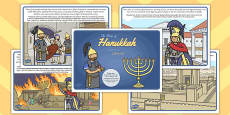 The Story of Hanukkah Polish Translation