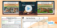 PlanIt Y6 Animals: The Tyger Lesson Pack to Support Teaching on The Tyger by William Blake