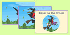 Story Sequencing to Support Teaching on Room on the Broom